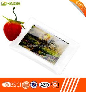Fornitore all'ingrosso della cina all'ingrosso caldo traspirante occhio di vetro panno di pulizia, non tessuto panno di pulizia