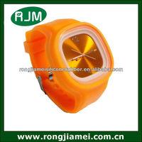Dazzling geneva watch gel candy jelly watch silicone sport wrist watch for promotion