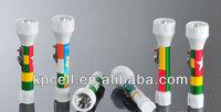 New Design National Flag Cheap Plastic LED Torch