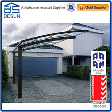 5.5mx3.0m outdoor car shelter aluminum carport