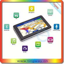 Built in GPS Moudle support offline maps 5inch Wince navigation system