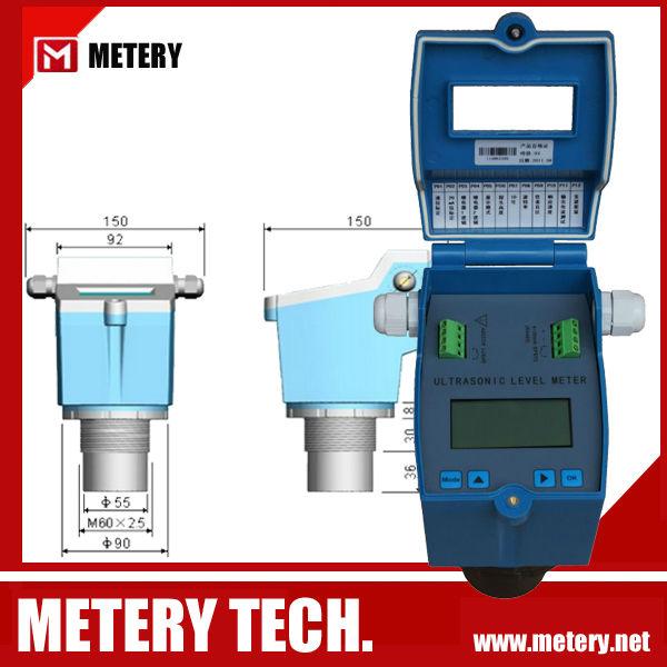 Liquid Ultrasonic Diesel Fuel Oil Tank Level Sensor - Buy ...