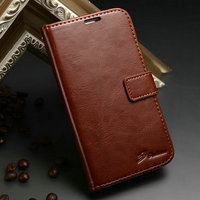 Sublimation Luxury Wallet Stand Design PU Leather Best Brands Mobile Phone Leather Case for Samsung S4