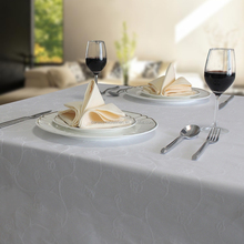 high quality for cheap jacquard banquet table cloth
