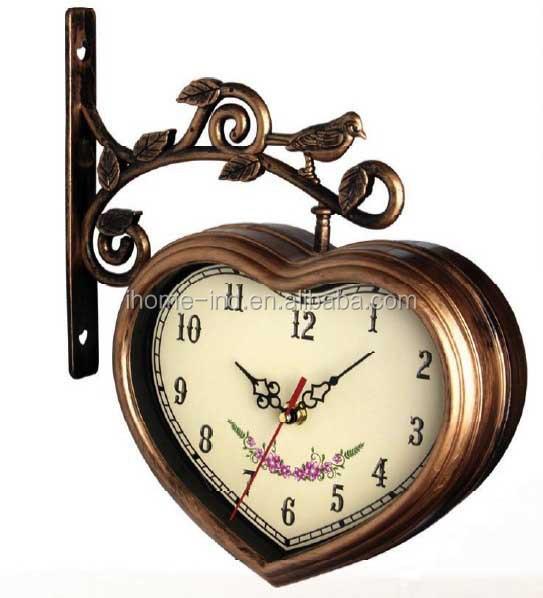 Horloge murale suspendue - Horloge murale gousset ...