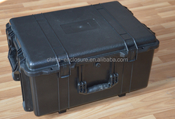 IP67 ABS Hard Plastic Safety Trolley Case
