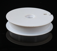 plastic fishing spool with optional colour