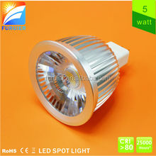Quick delivery!!! long lifespan DC12V PF>0.9 80lm/w COB 12v leds lights led spot light