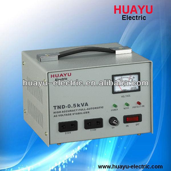 Single Phase Servo Motor 220v Ac Voltage Stabilizer