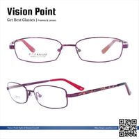 Women memory metal full-rim 2014 new style eye glasses frame japan