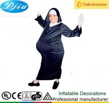 Dj-co-214 árabe exterior para mujer embarazada traje de mono