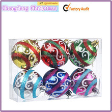 Top Quality New Christmas Decoration Supplies,Promotional Gifts Decorative Plastic Christmas Ball