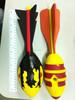PU foam missile rocket ball/eva foam rockets toy