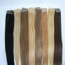 Most popular tape hair extensions indian remy hair extensions tape