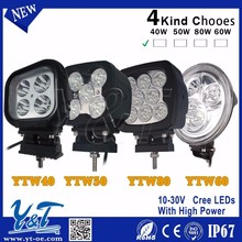 Hot-Sale Super Bright Round New Style 60W Led work Lamps, led work lights for cars, suv