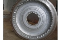 Semi-steel Radial Tyre Mould , Car / Trailer / fuoms Mold Halves Tire Mold