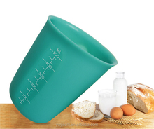 Factory price collapsible 1set 2type silicone 500ml&250ml measuring cup tools for cooking