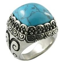 wedding engagement gemstone fashion finger stainless steel ring
