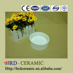 2014 China hot Cheap wholesale stocked round porcelain ceramic bowls