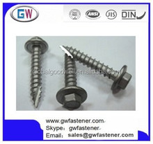 Hexagon Washer Head Type 17 Screw For Fastening Metal Roofing
