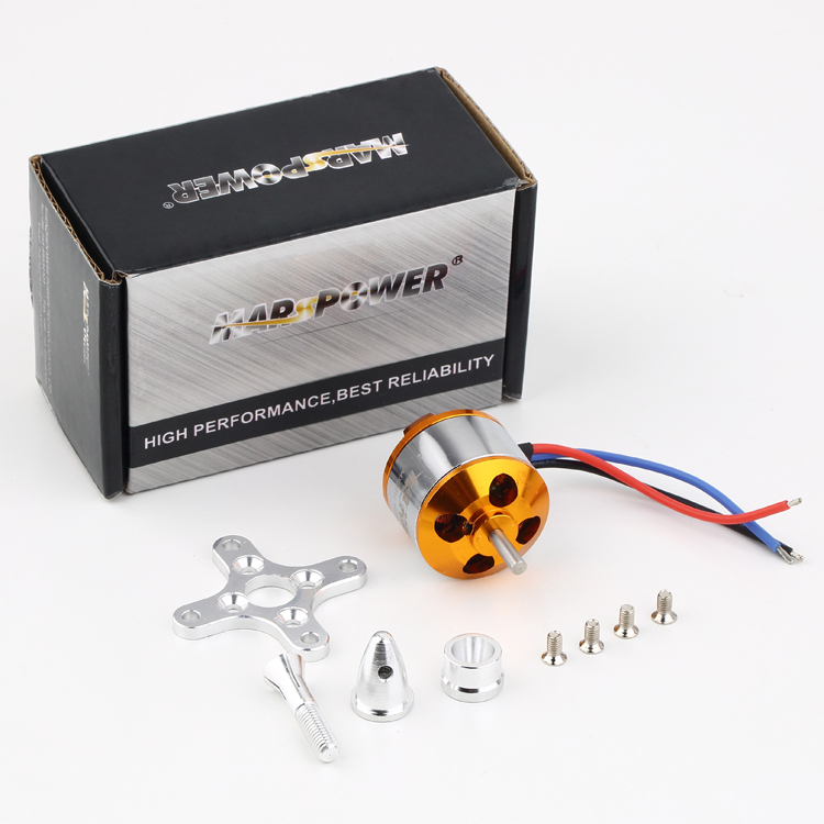 MARS POWER MA2212 KV1000 Brushless Motor for DJI Phantom F450 S500 F550