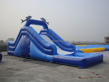 dnl water slide , ZY-WS1190 18ft inflatable water slides