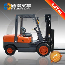 4ton diesel forklift truck with direct drive type pancake motor