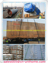 Breakbulk roro project shippig service from China/Shenzhen/Shanghai/Ningbo to Ashghabat,Turkmenistan