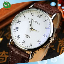 2015 new fashion simple business casual brand watches men Lowest price Wristwatch