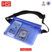 2015 Hot Sales PVC waterproof waist pouch/ waterproof bag/waterproof pouch PVC waterproof waist bag ,PVC waterproof waist pouch
