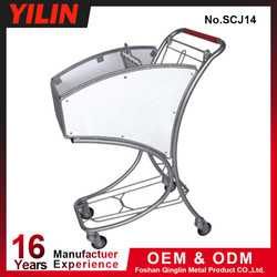 Foshan Manufacturer Japanese Style Dimension Shopping Trolley