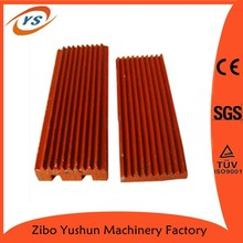Jaw crusher lining plates/jaw crusher lining boards/jaw crusher liners