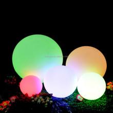 led decorations floating pool decoration SZ-B450-46 led glow ball with led light