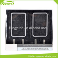 Well quality most popular pretty magnetic dual picture frame