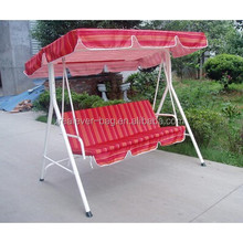 Promotion 3 seats outdoor garden swing chair
