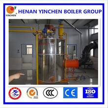 LSS vertical the upper and lower box and tubes industrial boiler natural gas, chinese boiler