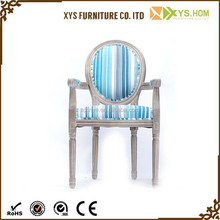 Hot Sales Cheap Upholstered Antique living room wood chair