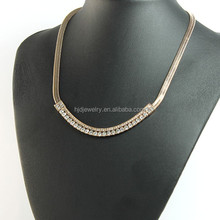 The New Design Simple Diamond All-match Fashion Necklace For Women