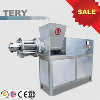 Hot sale big frozen meat cutting machine for making MDM for sale