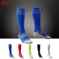 Kids Sport Football Soccer Above Knee Tube Durable Socks Long Thick Bottom Soccer Stockings For Children Medias Futbol