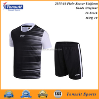 Customized your own football team jerseys wholesale blank various color soccer uniform