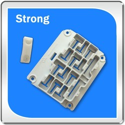 Flame retardant ABS plastic product with injection molding