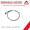 Cable aceleradorde motocicleta para YAM FZ16