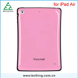 Hybrid Case For Ipad Air Shockproof Plastic Rubber Bumper Case