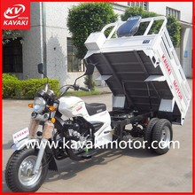Guangzhou factory three wheel large cargo motorcycle/farm agricultural cargo tricycle/scooter