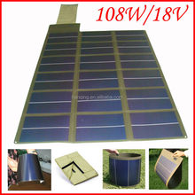 Waterproof flexible folding photovoltaic panel solar for camping