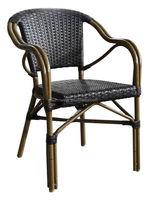 outdoor bamboo look rattan chair