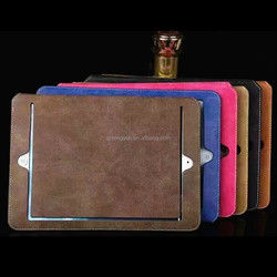 New arrival flip leather tablet smart cover case for ipad 2/3/4