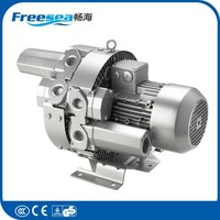 Freesea 2015 New High quality industrial electric centrifugal roots tube ring fan air blower