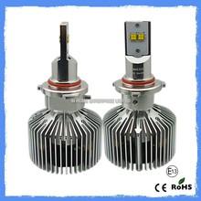 Fan cooling Waterproof car h1 h4 led headlight bulbs 3years warranty